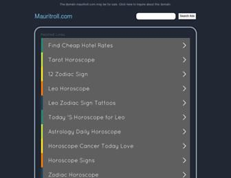 Screenshot for mauritroll.com