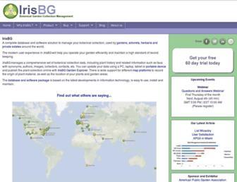 irisbg.com screenshot