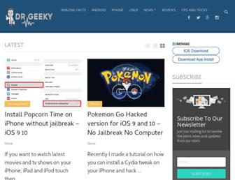 drgeeky.com screenshot