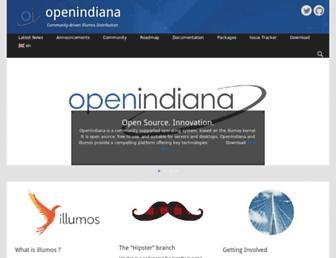 openindiana.org screenshot