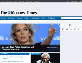themoscowtimes.com screenshot