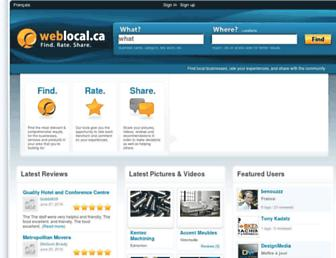 Thumbshot of Weblocal.ca
