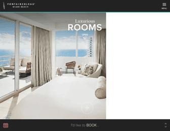 Thumbshot of Fontainebleau.com