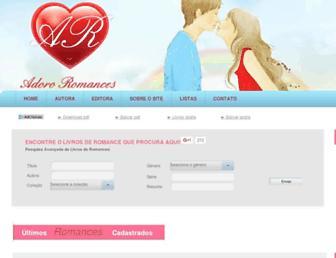 adororomances.com.br screenshot
