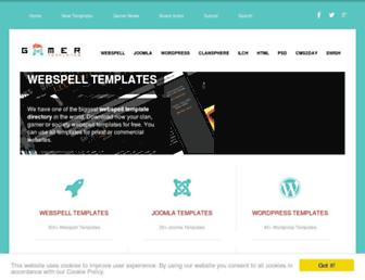 gamer-templates.com screenshot