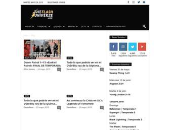 theflashuniverse.com screenshot