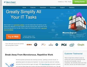macro-expert.com screenshot