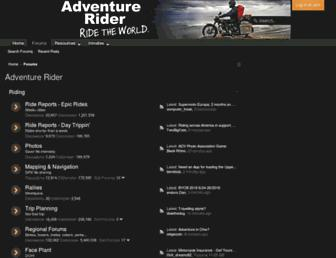 Thumbshot of Advrider.com