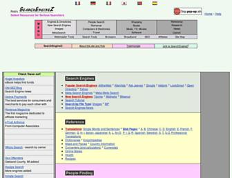 searchenginez.com screenshot