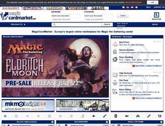 Thumbshot of Magiccardmarket.eu