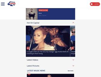 capitalfm.com screenshot