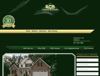 rgbhomes.com screenshot