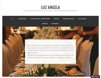 luzangela.es screenshot