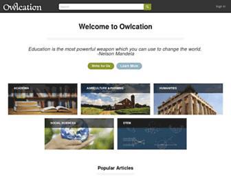 owlcation.com screenshot