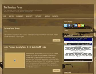 the-download-forum.blogspot.com screenshot