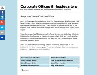 corporateofficehq.com screenshot