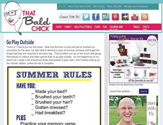 Thumbshot of Thatbaldchick.com