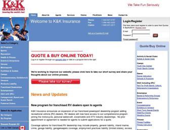 kandkinsurance.com screenshot