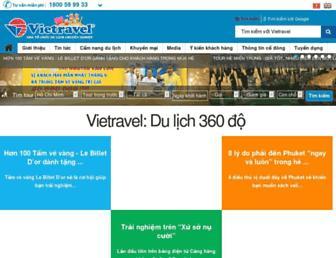 vietravel.com screenshot