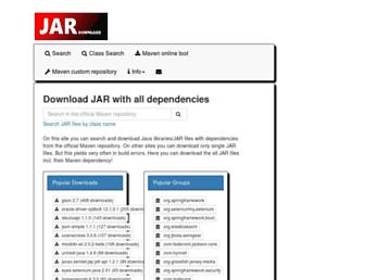 jar-download.com screenshot