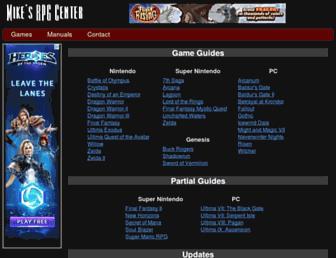 Thumbshot of Mikesrpgcenter.com