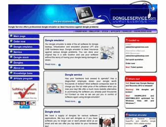 dongleservice.com screenshot