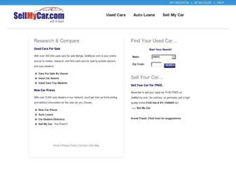 Thumbshot of Sellmycar.com