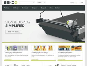 esko.com screenshot