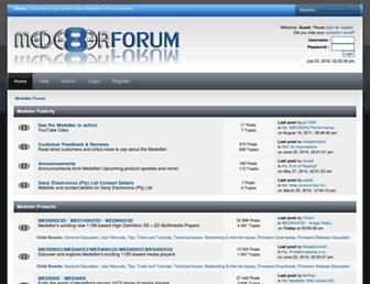 mede8erforum.com screenshot