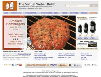 Thumbshot of Virtualweberbullet.com