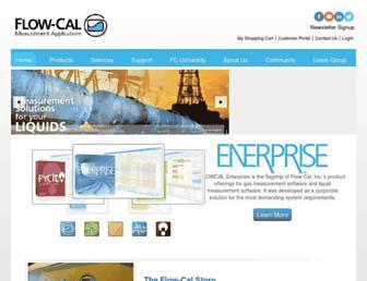 flowcal.com screenshot