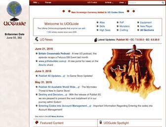 Thumbshot of Uoguide.com