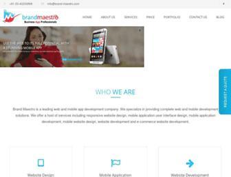 Thumbshot of Brand-maestro.com