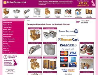 onlineboxes.co.uk screenshot
