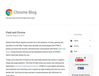 chrome.googleblog.com screenshot