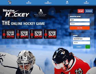 Thumbshot of Websimhockey.com