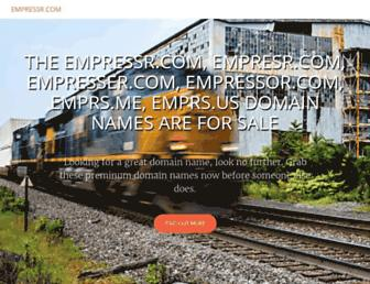Thumbshot of Empressr.com