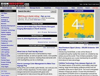signindustry.com screenshot