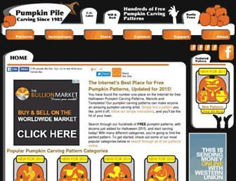 pumpkinpile.com screenshot