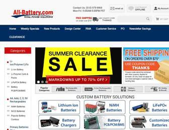 Thumbshot of All-battery.com
