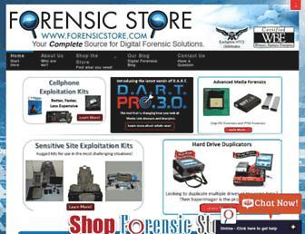 forensicstore.com screenshot