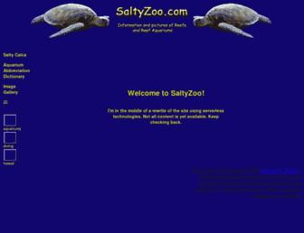 saltyzoo.com screenshot