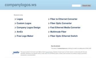 Main page screenshot of blog.companylogos.ws
