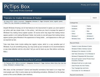 pctipsbox.com screenshot