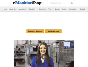 emachineshop.com screenshot