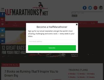 Thumbshot of Halfmarathons.net