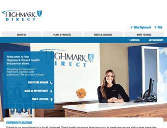 highmarkdirect.com screenshot