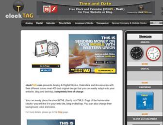 clocktag.com screenshot