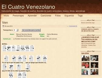 micuatro.com screenshot