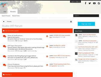 forum.studio-397.com screenshot